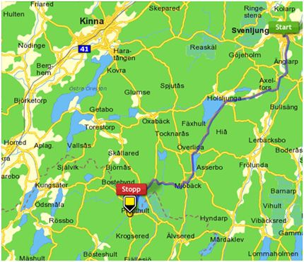 svenljunga karta Svenljunga svenljunga karta