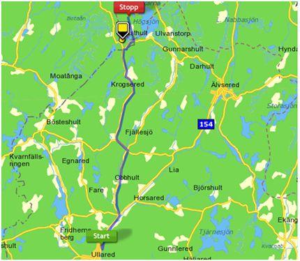 karta göteborg ullared Ullared karta göteborg ullared